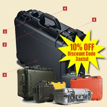 10% off Nanuk Professional Protective Cases