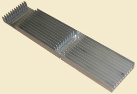 Prototype Machining: heatsink